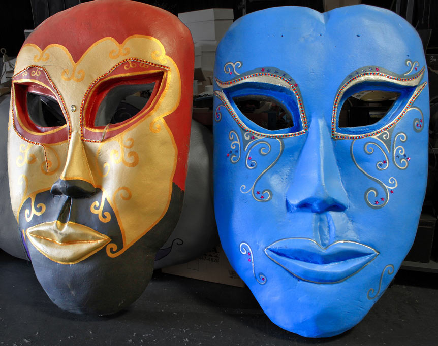 Incredible Group Venetian Masks