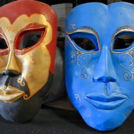 Large Venetian Masks