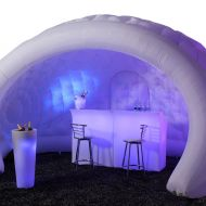 Inflatable Igloo Featuring Glow Bar