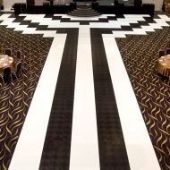 Great Gatsby Inspired Dance Floor and Walkway