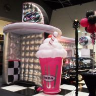 T-Bird Diner with Large Soda Float