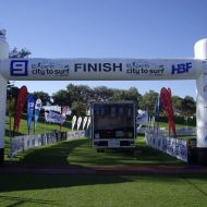 City to Surf Finish Line