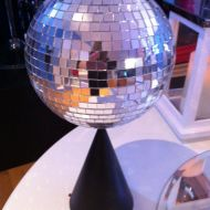 Sparkle and Shine Disco Ball Table Decor