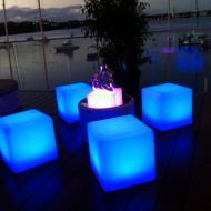 Glow Cube Chill Out Zone